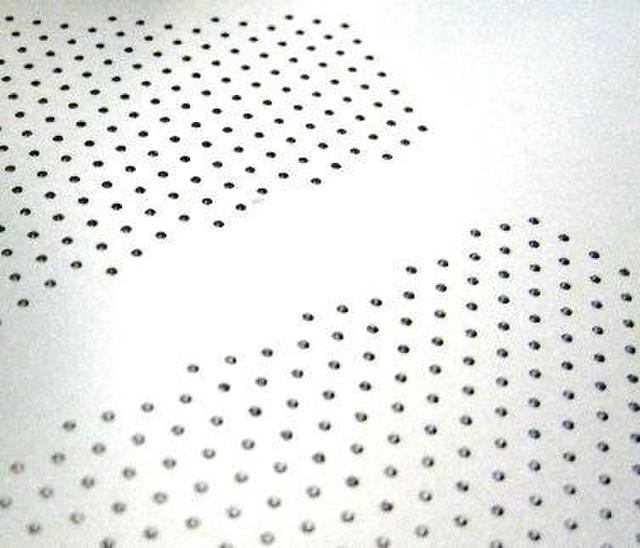 Orifice Plate Drilled Holes