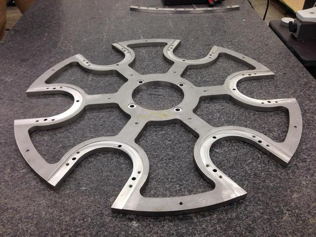 A close up view of a 304 stainless steel plate