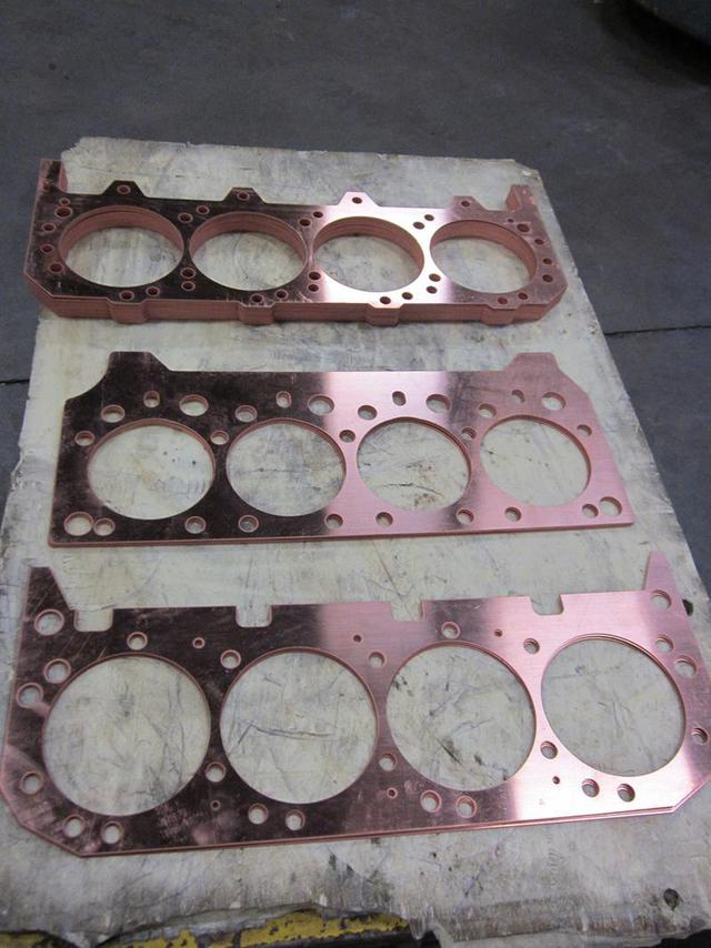 Head gasket made of copper