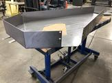 Formed guard from .125'' thick HRPO steel.