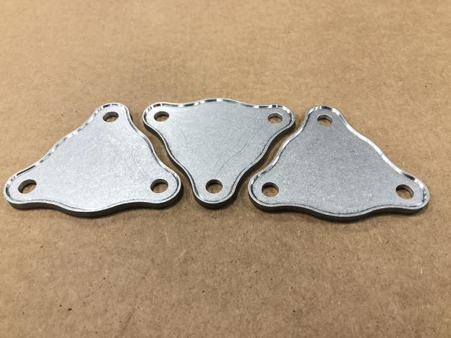 Waterjet Cut and Milled Aluminum