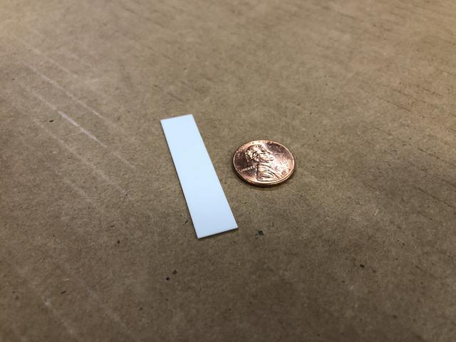 Waterjet Cut Alumina Ceramic Rectangles