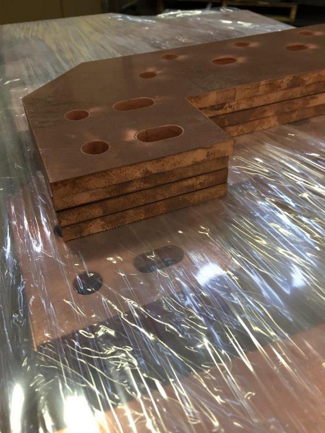 Waterjet Copper Plate