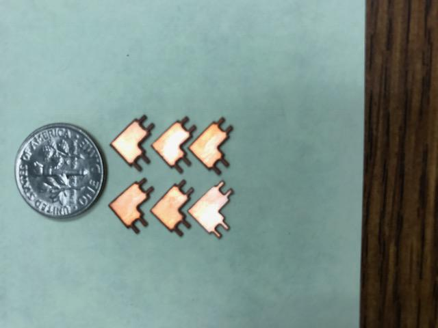 Waterjet Cutting Thin Copper