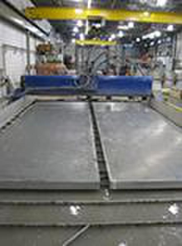 Waterjet Cutting Large Aluminum Plate