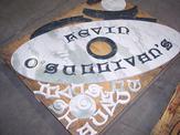 Custom flooring medallion example